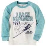 "Baby Boy Carter's ""Space Explorer"" Raglan Tee"