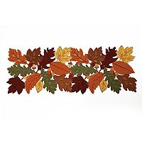 Celebrate Fall Together Cut Out Leaf Table Runner - 36