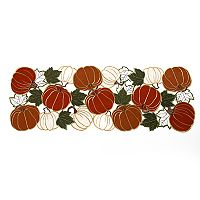 Celebrate Fall Together Cut Out Pumpkin Table Runner - 36