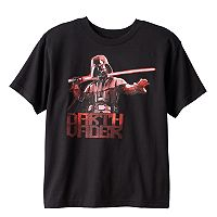 Boys 8-20 Star Wars Darth Vader Flame Tee