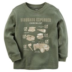 Baby Boy Carter's 'Dinosaur Explorer' Thermal Tee