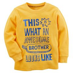 Baby Boy Carter's 'Awesome Brother' Thermal Tee
