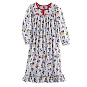 Girls 4-12 Charlie Brown & Snoopy Peanuts Nightgown