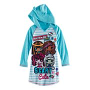 Girls 4-12 Monster High Minis Hooded Nightgown