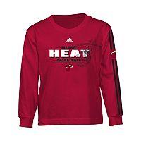 Boys 4-7 adidas Miami Heat Logo Tee