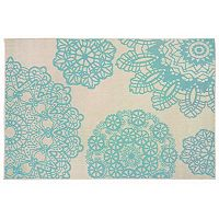 Liora Manne Terrace Crochet Medallion Indoor Outdoor Rug