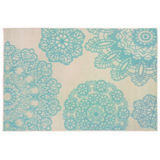 Trans Ocean Imports Liora Manne Terrace Crochet Medallion Indoor Outdoor Rug