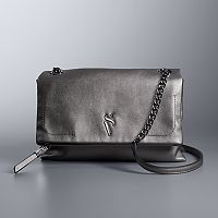 Simply Vera Vera Wang Garrison Double Entry Flap Crossbody Bag