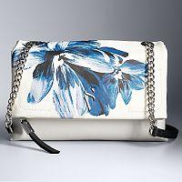 Simply Vera Vera Wang Garrison Double Entry Flap Crossbody Bag