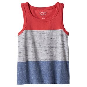 Toddler Boy Jumping Beans® Striped Tank Top