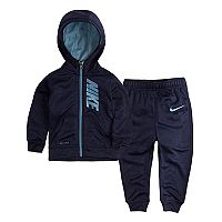 Baby Boy Nike Therma-FIT Hoodie & Jogger Pants Set
