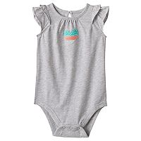 Baby Girl Jumping Beans® Flutter Graphic Bodysuit