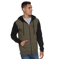 Men's Vans Camo Zip Full-Zip Hoodie