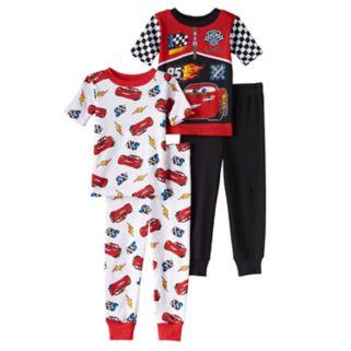 Disney / Pixar Cars 3 Toddler Boy Lightning McQueen Tops & Pants Pajama Set