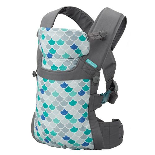 Infantino Gather Practical Wrap   Buckle Baby Carrier