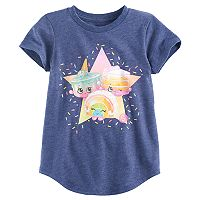 Girls 4-10 Jumping Beans® Shopkins Ice Cream Kate, Rainbow Bite & Linda Layered Cake Tee