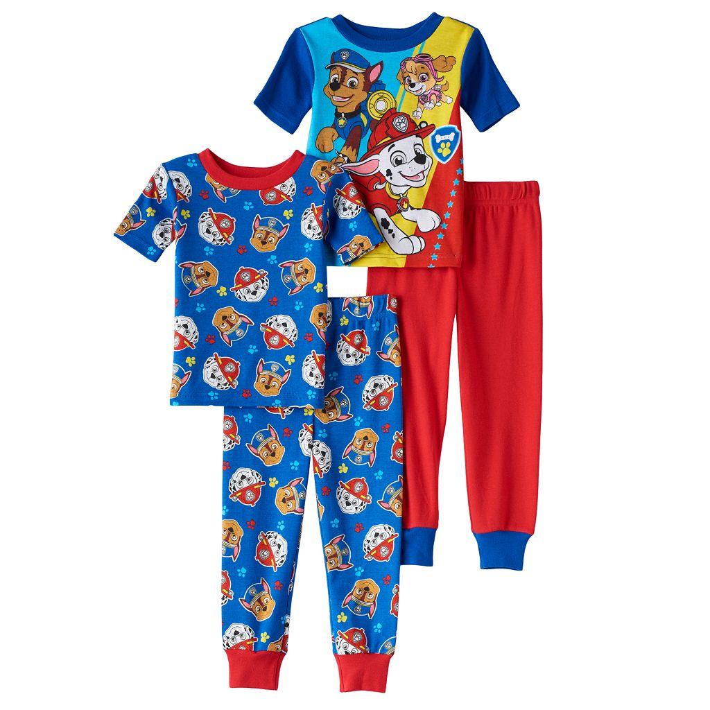 Toddler Boy Paw Patrol Marshall, Chase & Sky Tops & Pants Pajama Set