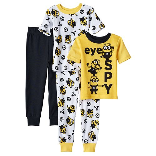 Toddler Boy Despicable Me 3 Minions Tops & Pants Pajama Set