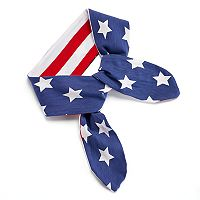 Stars & Stripes Jersey Head Wrap