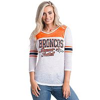Women's 5th & Ocean by New Era Denver Broncos Burnout Tee