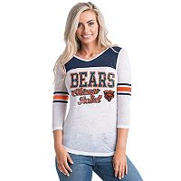 Women's 5th & Ocean by New Era Chicago Bears Burnout Tee
