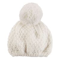 Baby Girl Carter's Pom-Pom Knit Beanie Hat