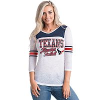 Women's 5th & Ocean by New Era Houston Texans Burnout Tee