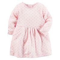 Baby Girl Carter's Polka-Dot Sweater Dress
