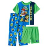 Toddler Boy Paw Patrol Chase & Marshall Tee, Shorts & Pants Pajama Set