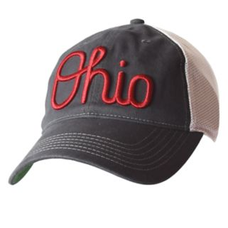 Adult Ohio State Buckeyes Fired Up Snapback Cap