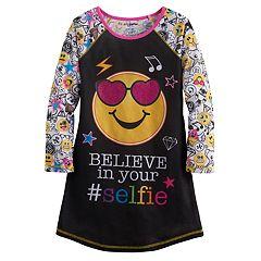 Girls 4-12 'Believe in your Selfie' Icon Nightgown