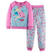 Girls 4-12 Num Nom Top & Bottoms Pajama Set