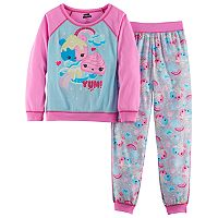 Girls 4-12 Num Nom Top & Bottoms Pajama Set