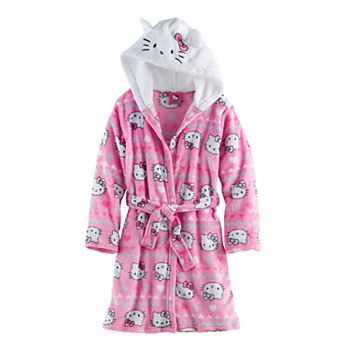 be6f86a0a Girls 4-12 Hello Kitty® Hooded Robe