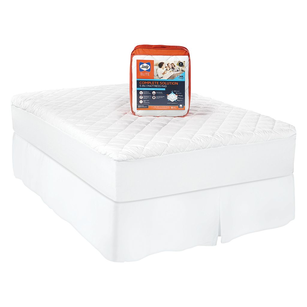Sealy Posturepedic 300 Thread Count Complete Solutions Mattress Pad