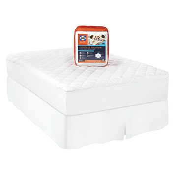 Sealy 300 Thread Count Complete Solutions Mattress Pad