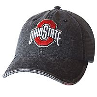Adult Ohio State Buckeyes Whatever It Takes Mesh Snapback Cap