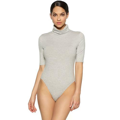 Women's Jezebel Velvet Touch Turtleneck Bodysuit 900218