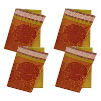 Celebrate Fall Together Pumpkin Jacquard Napkin 4-pk.