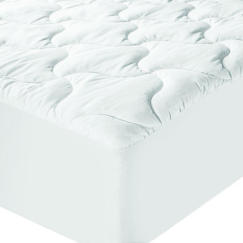 Sealy Elite Ultimate Luxury Cotton Mattress Pad. White. Queen