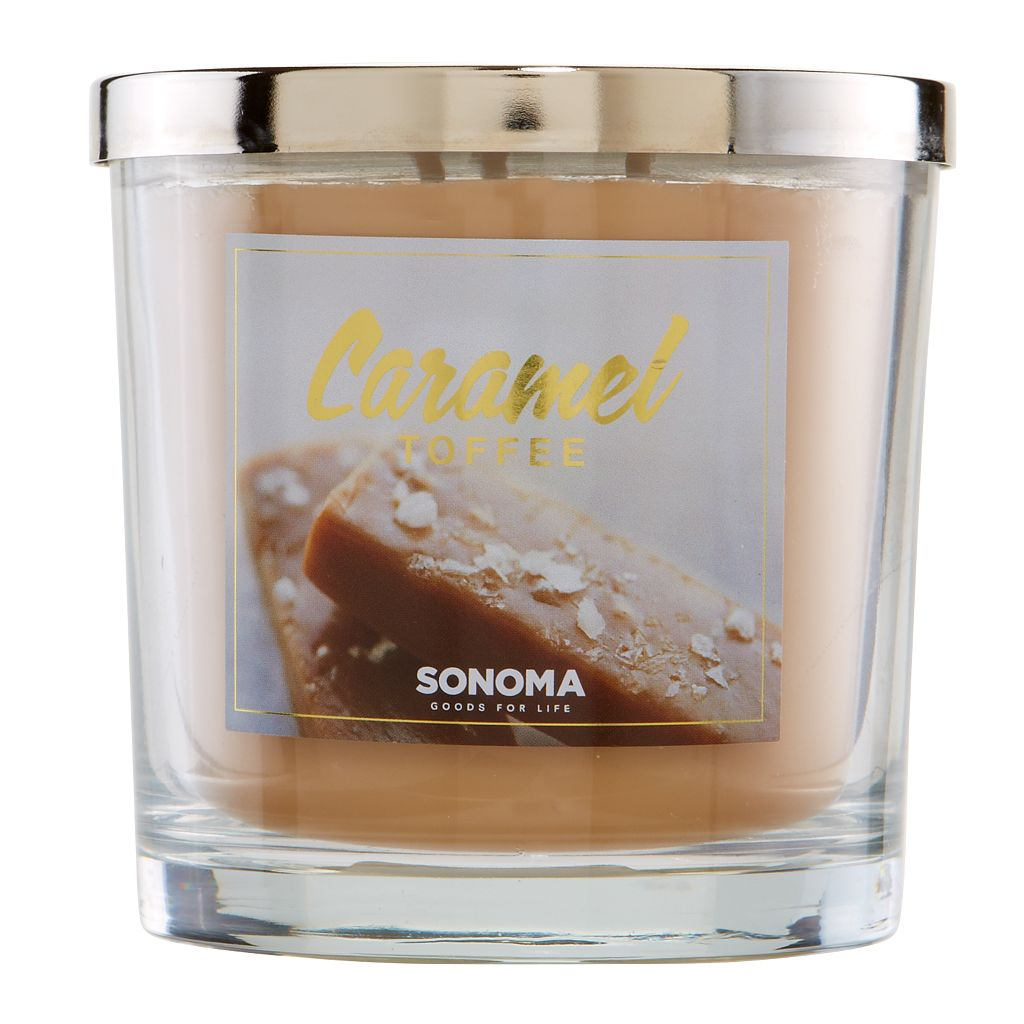 SONOMA Goods for Life™ 14-oz. Caramel Toffee Candle Jar