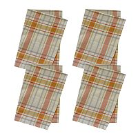 Celebrate Fall Together Fall Plaid Napkin 4-pk.