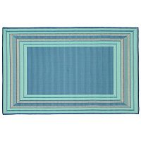 Trans Ocean Imports Liora Manne Terrace Etched Border Indoor Outdoor Rug