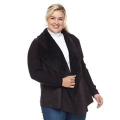 Plus Size Napa Valley Cascade Cardigan