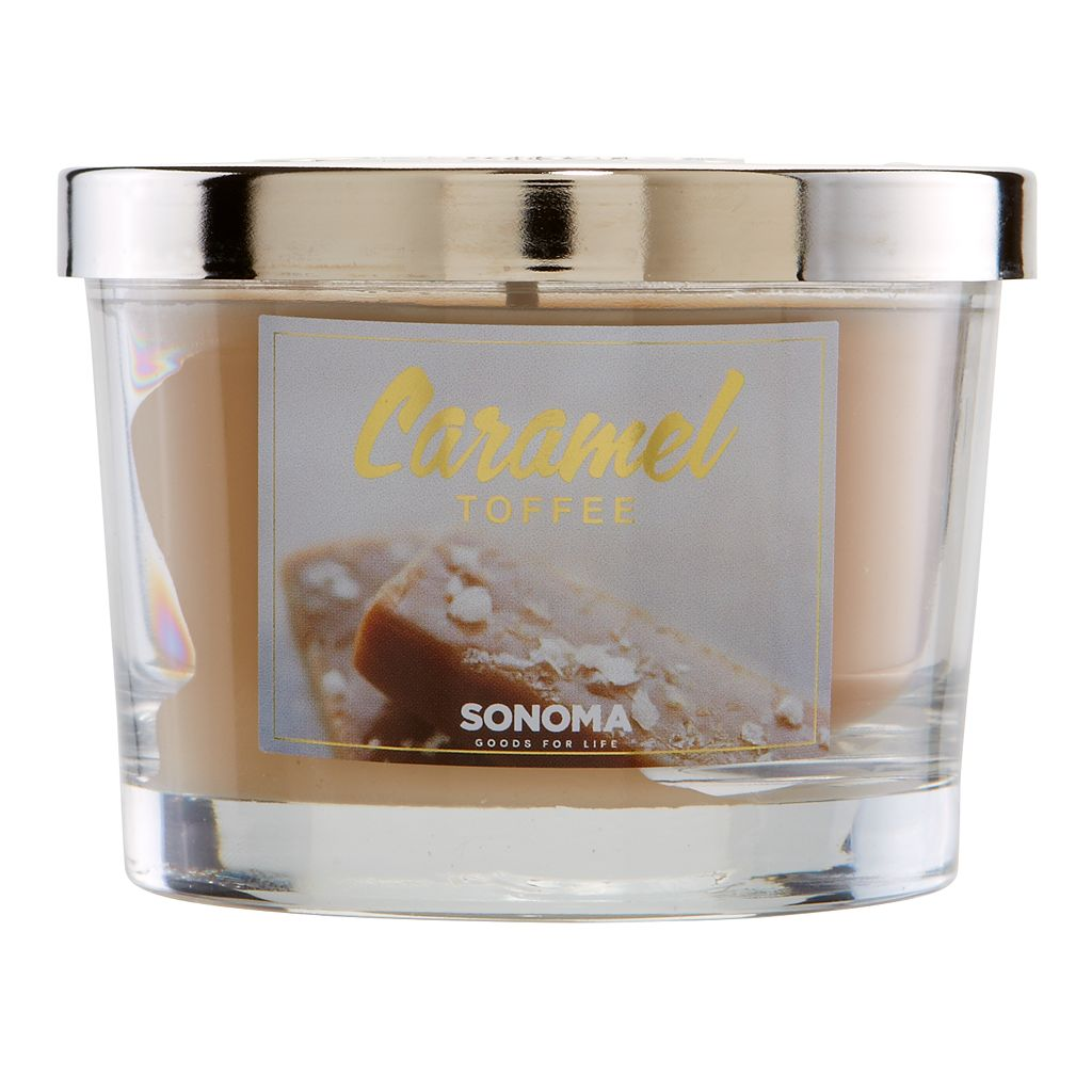 SONOMA Goods for Life™ 5-oz. Caramel Toffee Candle Jar