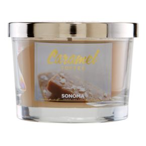 SONOMA Goods for Life? 5-oz. Caramel Toffee Candle Jar
