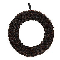 Celebrate Halloween Together Wood Curl Wreath