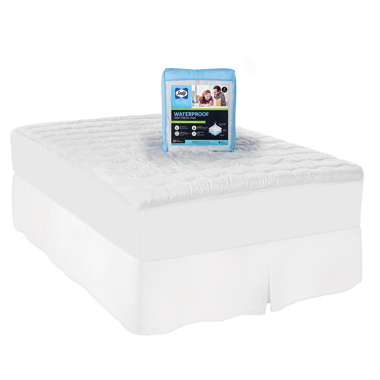 sealy microfiber waterproof mattress pad