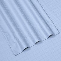 Windowpane 6-piece Dobby Cotton Deep Pocket Sheet Set