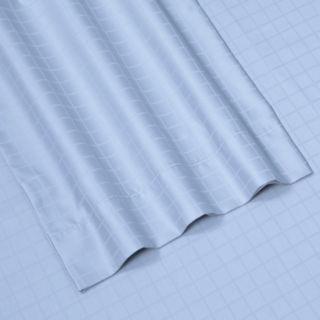 Windowpane 6-piece Dobby Cotton Deep Pocket Sheet Set